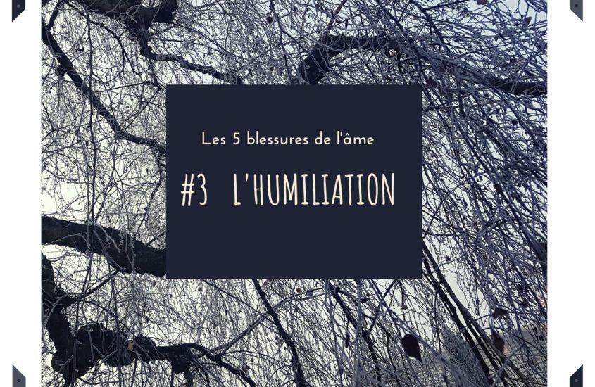 Les blessures de l'âme: #3L'HUMILIATION ou la honte de soi